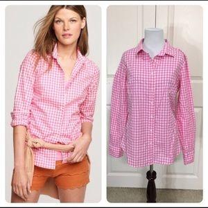 J. Crew Classic-fit boy shirt — 14T